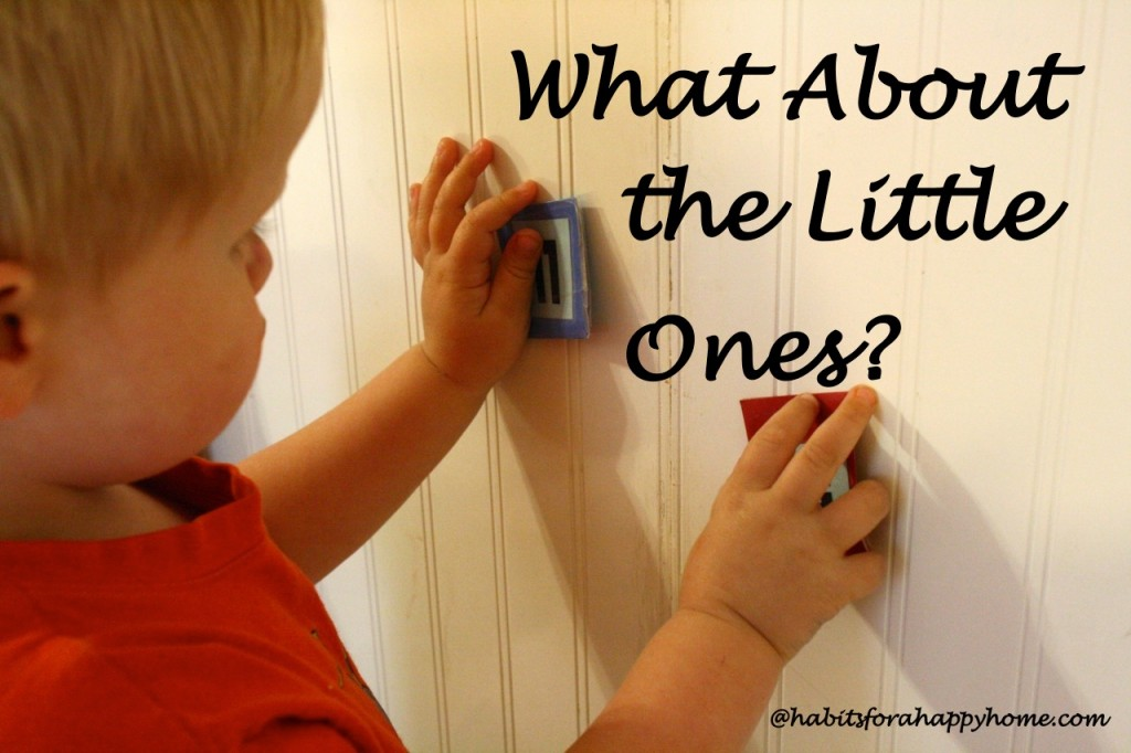 What do you do with the little ones while you homeschool? How to build the morning room time habit. Resources and the steps to bless the whole family.