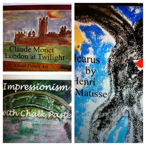 Art Appreciation Chalk Art Tutorials www.hodgepodge.me