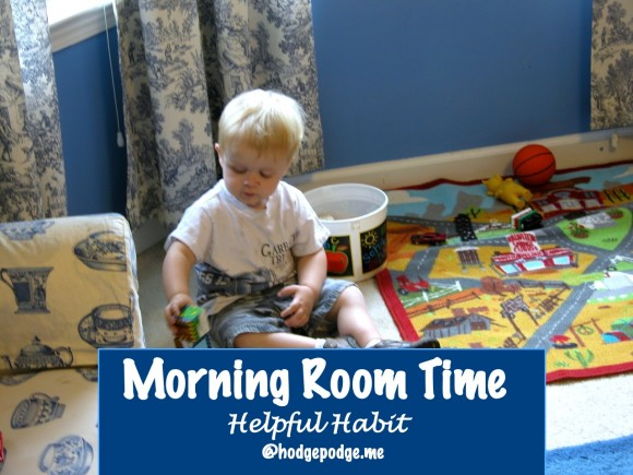 Morning Room Time Habit at Hodgepodge