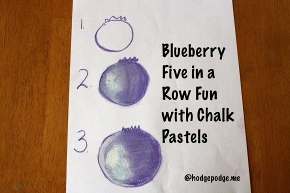 Blueberries: A Pastels Tutorial