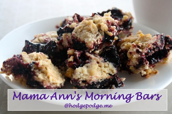 Mama Ann's Morning Bars
