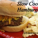 Slow Cooker Hamburgers Recipe