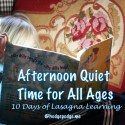 Afternoon Quiet Time for All Ages at Hodgepodge