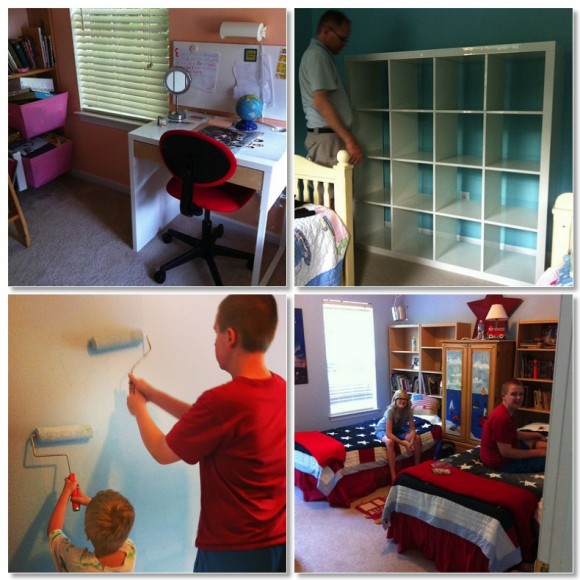 homeschool makeover room by room