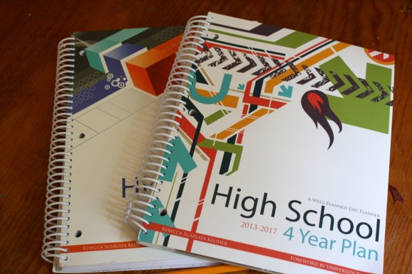 4 Year High School Planner review at www.hodgepodge.me