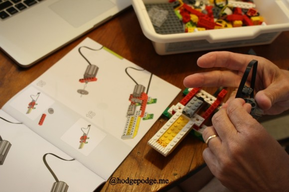 LEGO® WeDo Robotics assembly