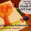 Must Have Items for Chalk Pastel #Art + bonus tutorial www.hodgepodge.me