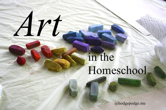 Art in the Homeschool - Resources for Teaching www.hodgepodge.me
