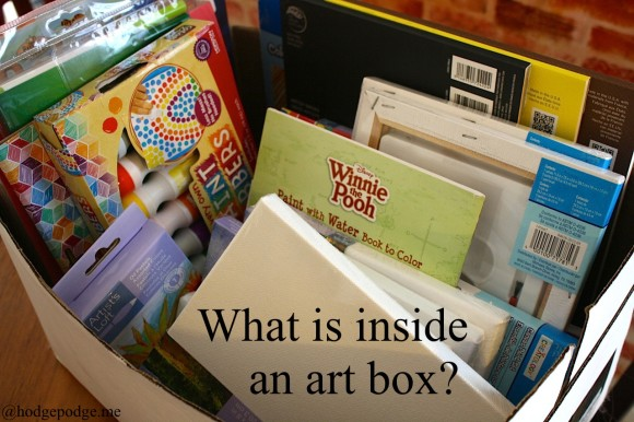 What is inside an art box? www.hodgepodge.me