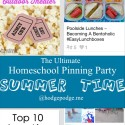 Summer Time at The Ultimate Homeschool Pinning Party