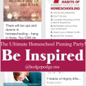 Be Inspired at The Ultimate Homeschool Pinning Party