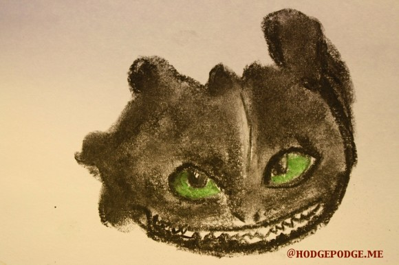 How to Draw Toothless - face at Hodgepodge