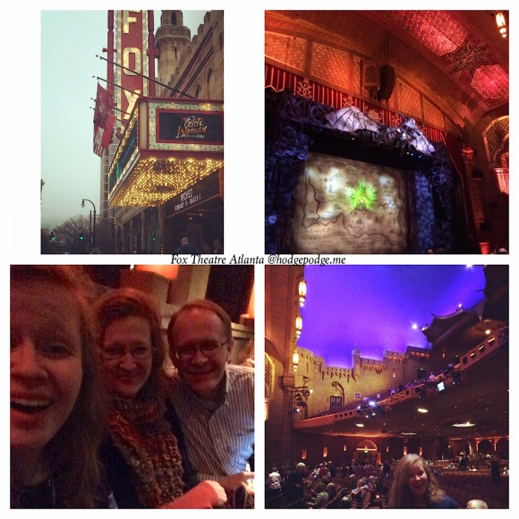 Fox Theatre Atlanta to see Wicked