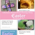 Easter at The Ultimate Homeschool Pinning Party