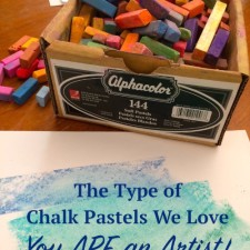 The Type of Chalk Pastels We Love