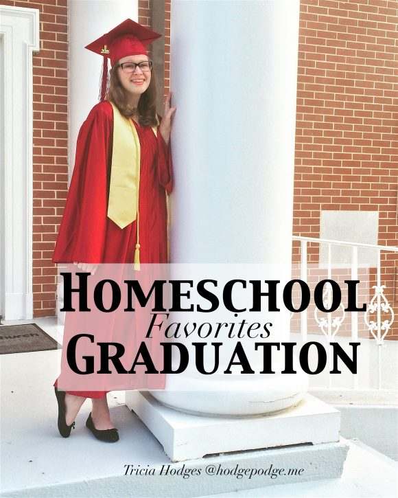 Homeschool Graduation Favorites