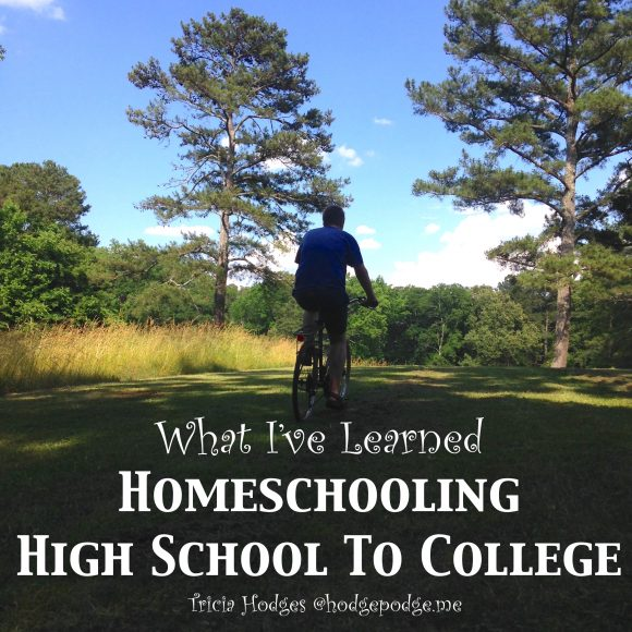 Homeschool High School to College
