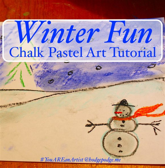 Winter Fun Chalk Pastel
