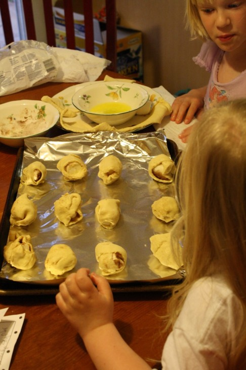 This simple recipe paints such a vivid picture of the resurrection story. Resurrection rolls and this simple recipe from my friend Kim have quickly become a family Easter tradition.