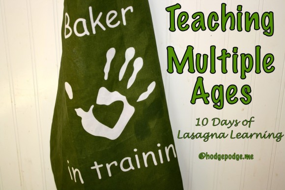 A Recipe for Teaching Multiple Ages