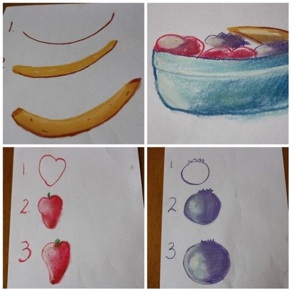 fruit pastel tutorials