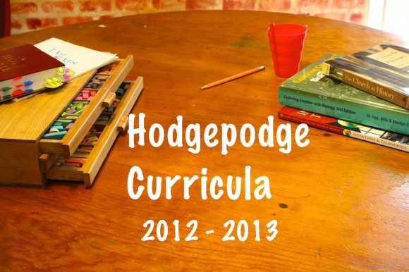 Hodgepodge Curricula 2012-2013