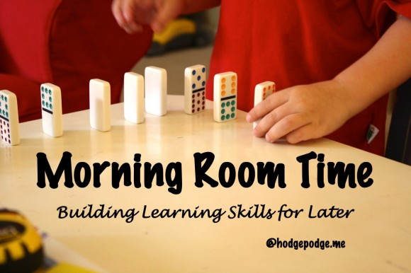 How Morning Room Time Builds Learning Skills for Later