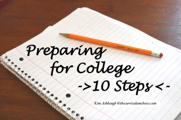 Preparing for College—10 Steps
