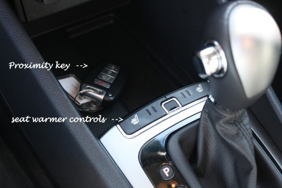 kia rio proximity key and seat warmers