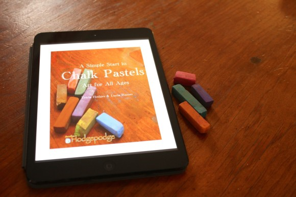 Nurture a Love of Art With A Simple Start in Chalk Pastels