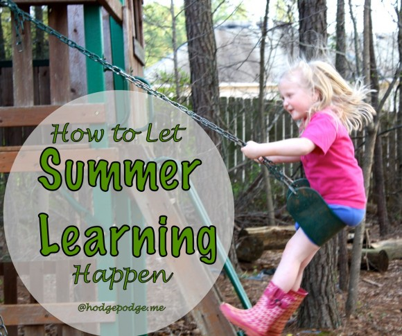 How to Let Summer Learning Happen