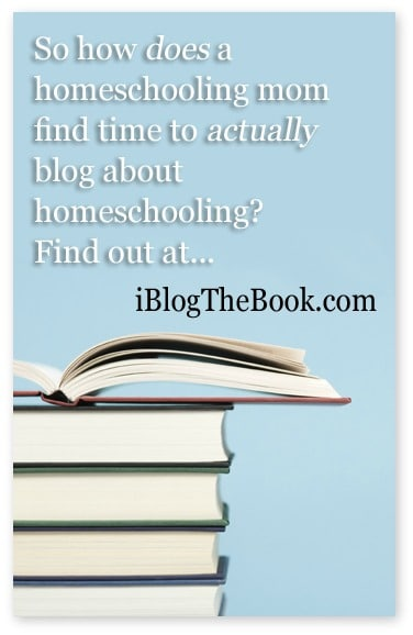 how to homeschool and blog