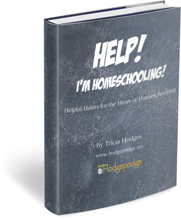 Help! I'm Homeschooling ebook by Tricia Hodges www.southernhodgepodge.com