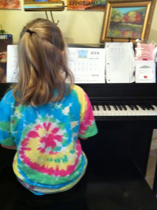 starting piano lessons
