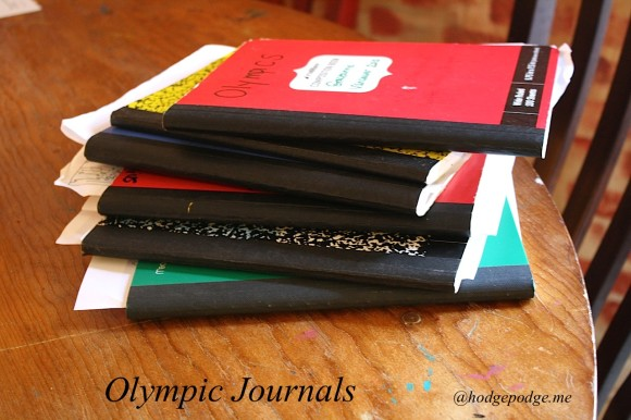 Olympics homeschool journals www.hodgepodge.me