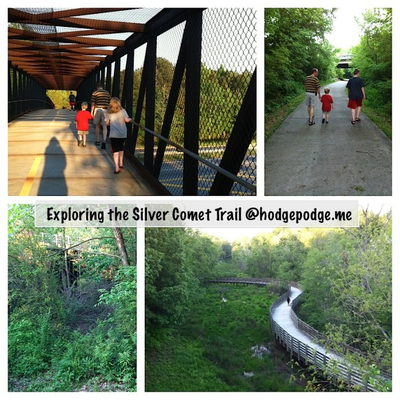 Walking the Silver Comet Trail www.hodgepodge.me