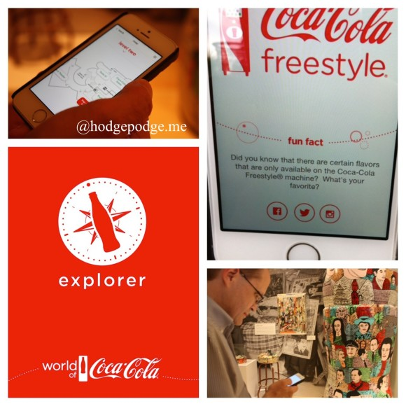 World of Coca-Cola Explorer App World of Coca-Cola www.hodgepodge.me
