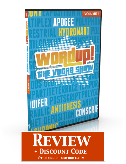 WordUp! The Vocab Show - Review at The Curriculum Choice