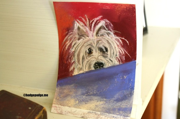 You ARE an Artist - Draw Your Pet Challenge at Hodgepodge