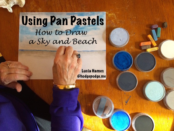 Pan Pastels: How to Draw a Sky and Beach