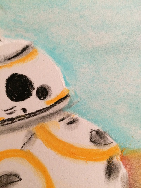 Star Wars BB8 Droid Art Tutorial