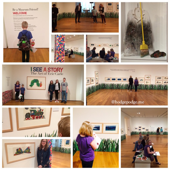 Eric Carle Exhibit at the High Museum