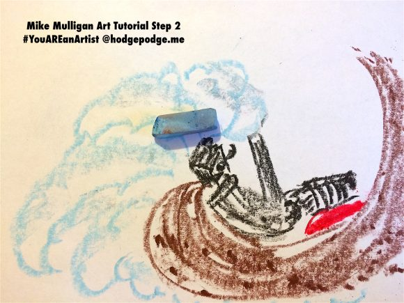 Mike Mulligan Art Tutorial Step 2