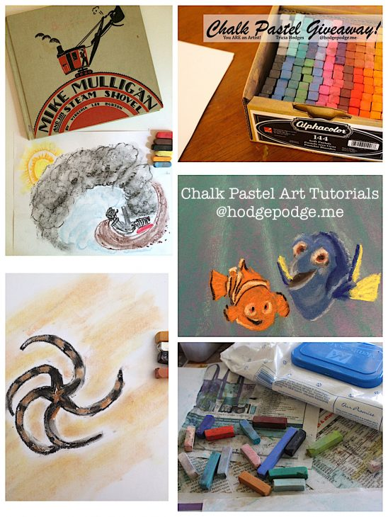 Chalk Pastel Art Tutorials at Hodgepodge