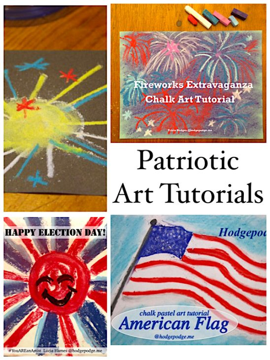 Patriotic Art Tutorials